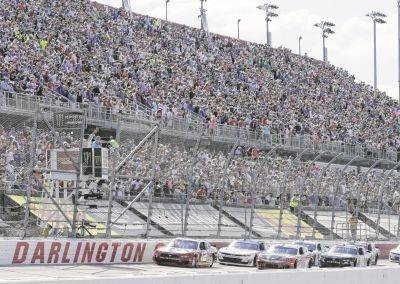 Unlike 2019, the stands will not be full of fans when NASCAR gets back to racing Sunday at Darlington Raceway in Darlington, S.C.