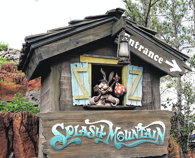 "The character Brer Rabbit from the movie ""Song of the South"" is depicted near the entrance to the Splash Mountain ride in the Magic Kingdom at Walt Disney World in Lake Buena Vista, Fla. Disney officials said the ride would no longer be tied to the 1946 movie, which many view as racist."