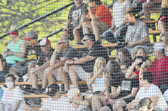 Fans attend Friday's Ohio Veterans 4 County Memorial All-Star Games in Ottawa.