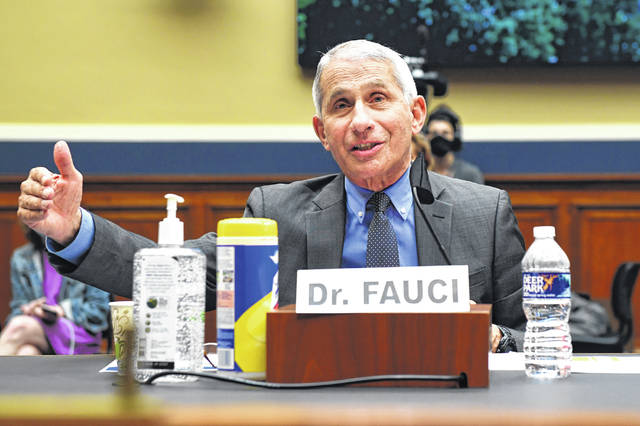 Director of the National Institute of Allergy and Infectious Diseases Dr. Anthony Fauci testifies before a House Committee on Energy and Commerce on the Trump administration's response to the COVID-19 pandemic on Capitol Hill in Washington on Tuesday, June 23, 2020.