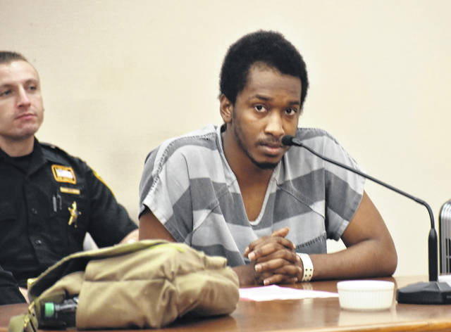 Cardale Funches, 23, of Lima, will be sentenced July 15 for his role in a robbery last September outside an apartment complex on Brower Road.