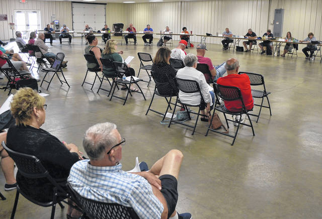 The Allen County Fair Board continues discussions on what this year's fair might look like. The board met at the fairgrounds for its monthly meeting.