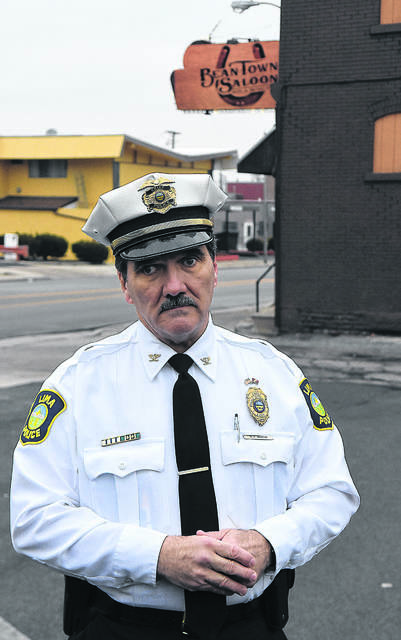 Lima Police Chief Kevin Martin