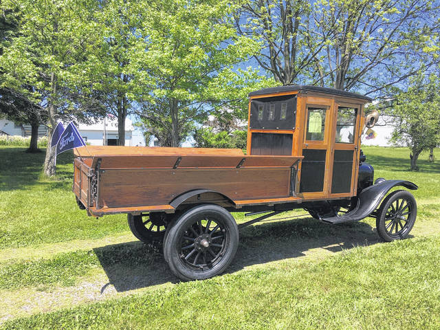 Lee Roof, of Ridgeway, waited 30 years to acquire a 1916 Ford TT Truck. His father purchased it for him at auction in Frankenmuth, Mich., in 2010.