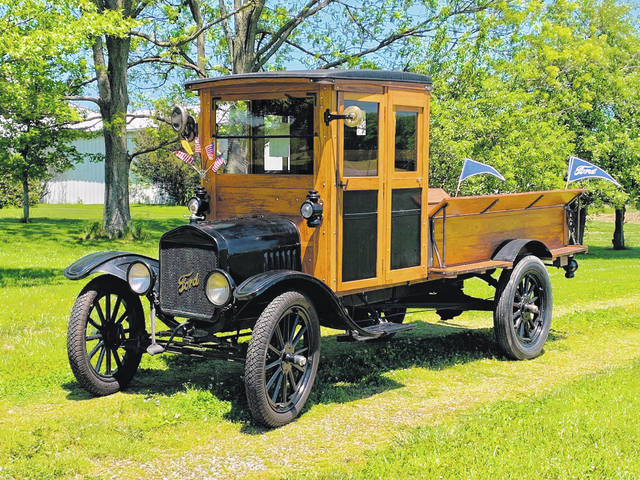 Submitted photo Lee Roof, of Ridgeway, waited 30 years to acquire a 1916 Ford TT Truck.