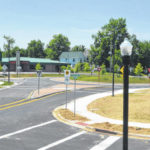 Elm St. roundabout nears finish line