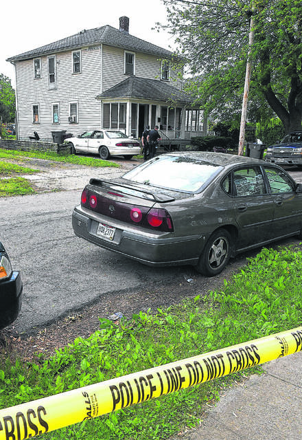 Lima Police Department responded to a call at 8:15 a.m. Wednesday to 413 S. Atlantic Ave. in response to shots fired.