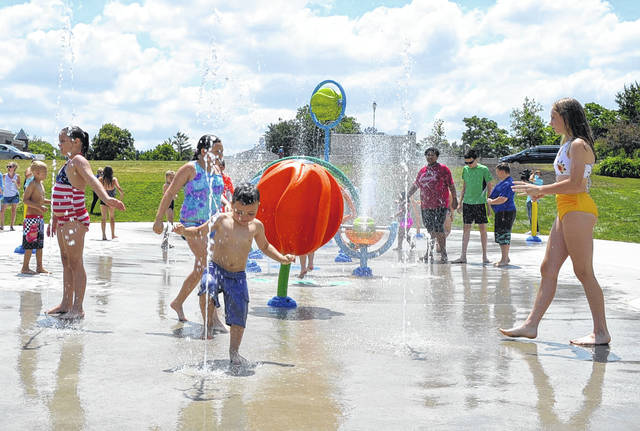 A new spash pad has opened in Mill Park in St. Marys, thanks to the efforts of some fourth graders at West Intermediate School.