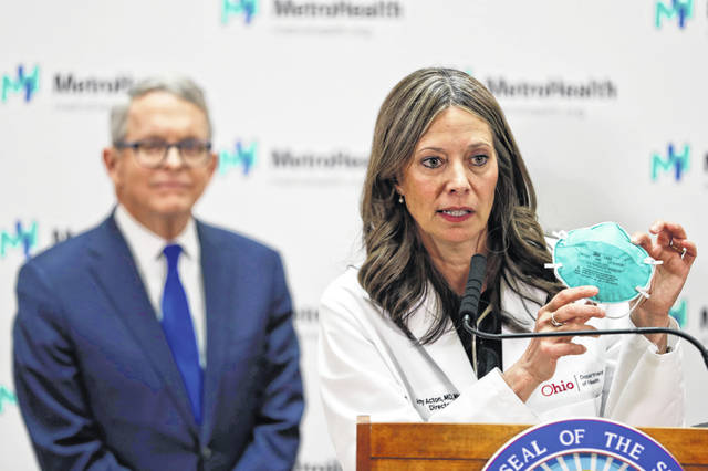 Dr. Amy Acton stepping down as Ohio Department of Health Director