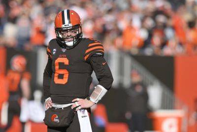 Cleveland Browns quarterback Baker Mayfield has been outspoken about the need for more understanding and justice in the nation following the killing of George Floyd, a black man, while in police custody in Minneapolis. (AP photo)
