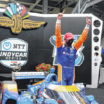 Dixon breaks through at Indianapolis with victory in GP