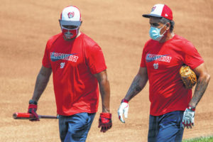 Nationals, Astros cancel workouts over virus testing delays