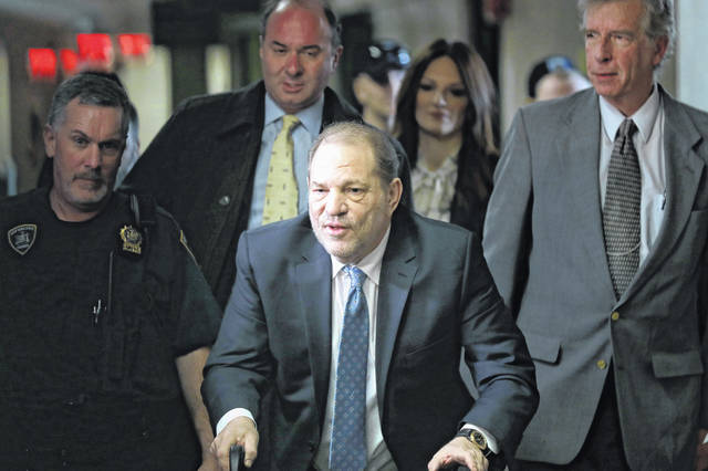 A judge has rejected a $19 million settlement between Harvey Weinstein and some of his accusers. U.S. District Judge Alvin Hellerstein in Manhattan on Tuesday said Weinstein's accusers in the proposed class-action settlement were too varied to be grouped together.