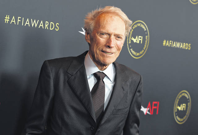 Clint Eastwood arrives at the AFI Awards on Jan. 3 in Los Angeles. Eastwood sued several companies that sell CBD supplements Wednesday, alleging that they are falsely using his name and image to push their products.