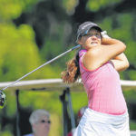 Naumann shoots low tourney round
