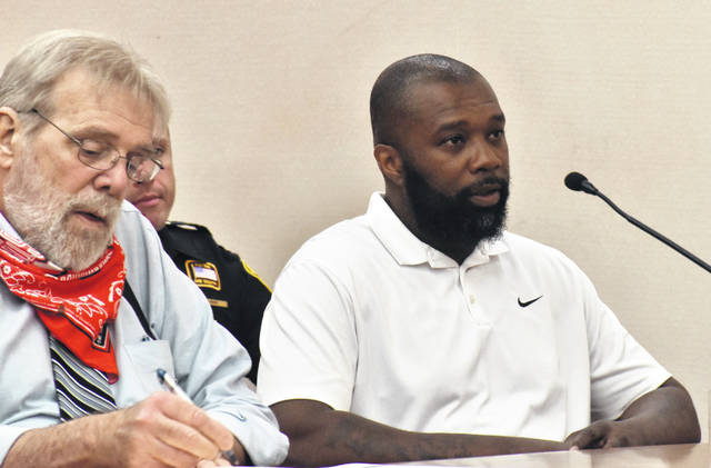 Former Lima Senior and Ohio State University basketball standout Greg Simpson was sentenced to 30 days in jail, four years of probation and 80 hours of community service Tuesday for selling falsified drivers' education certificates to Lima students in the summer of 2019.