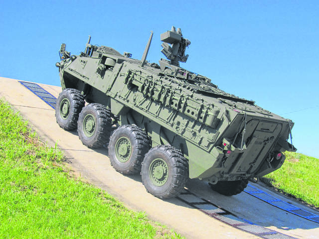 The Joint Systems Manufacturing Center in Lima also builds the Stryker vehicle.