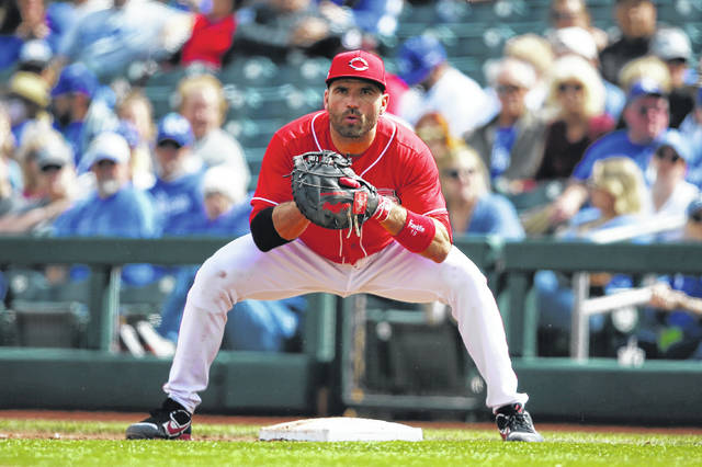 Joey Votto has been a fixture for the Cincinnati Reds since being called up in Sept. 2007. He is a six-time all-star and has a career .307 batting average and 284 lifetime home runs.
