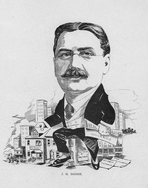 John M. Boose, an illustration from 1905.