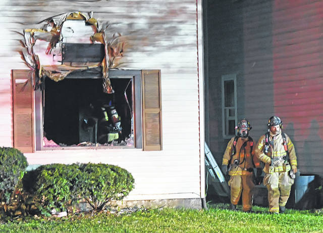 The Lima Fire Department responded to a house fire at 233 W. Kibby St. early Thursday morning.