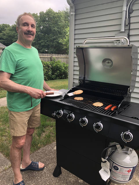 Where there's a grill, there's a way. (Sue Zezima)