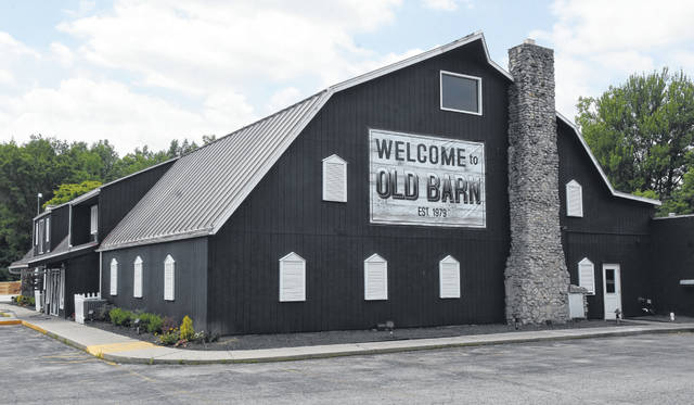 Old Barn Out Back in Lima — now known as Old Barn Restaurant & Grill — recently renovated, including changing the exterior color from red to black.