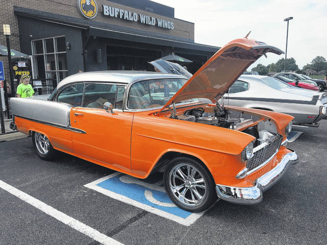 Lou Varrato, of Lima, took ownership of Gary Allen's 1955 Chevy 210 hardtop after Allen died earlier this year. The car is immaculate inside and out, as was Gary's fashion.