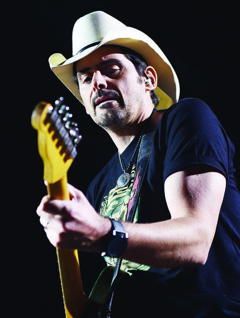 Brad Paisley will perform at the 2021 Allen County Fair, officially postponing this year's show.