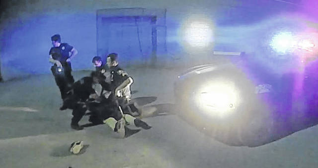 Lima Police Department body camera footage from June shows the outcome of a scuffle outside of Lombardo's Bar. Those on scene at the time alleged police mistreatment, but a review of footage after the fact showed why officers took down the suspect. They were concerned about the individual reaching for a gun.
