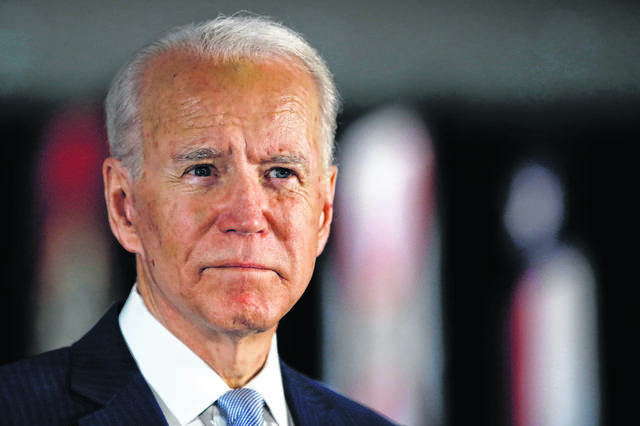 BIDEN … his race to lose