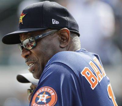 Dusty Baker takes over as the Houston Astros manager after a sign-stealing scandal cost resulted in predecessor AJ Hinch his job. (AP Photo)