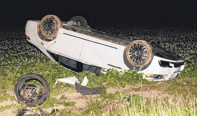 Ohio State Highway Patrol were at the scene of a one car rollover in the 3000 block of North Cole Street early Saturday morning.
