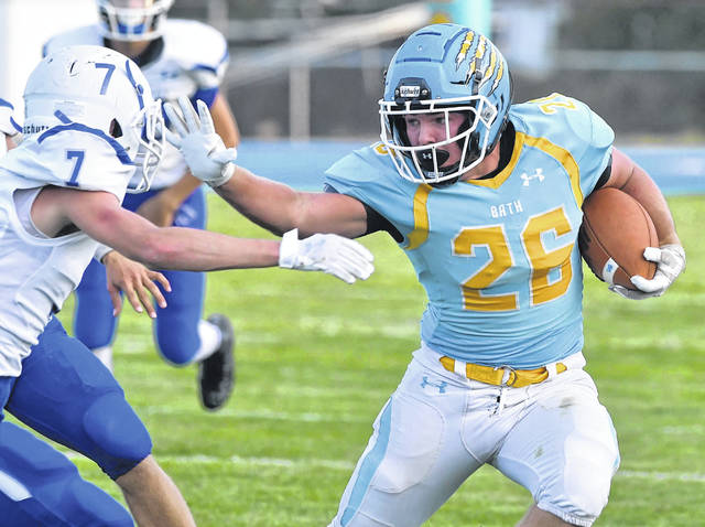 Bath's Carter Pariapiano is expected to get more touches for the Wildcats this yer.