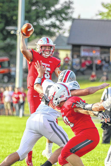 Pandora-Gilboa's Silas Schmenk, coming off a big year, is back to lead the Rockets' offense behind center.