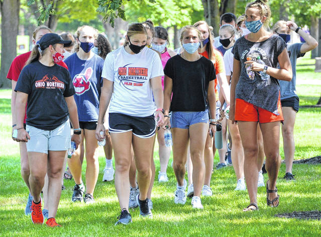 Ohio Northern University welcomed students back to campus last week, including Sunday's Welcome Fest, a chance for new students to be introduced to the numerous campus organizations and activities.
