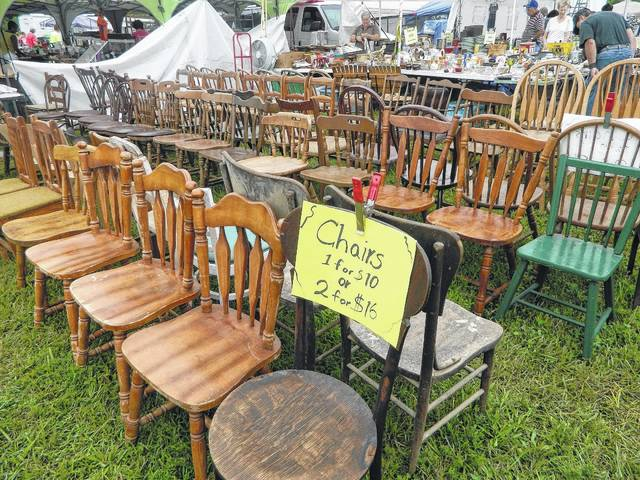 Two organized yard sale events come through the area.