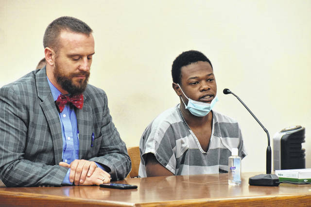 Isahia Dyous, 20, was sentenced Thursday to two years in prison for his role in an organized robbery at a Brower Road apartment complex last September. Three other defendants had previously been sentenced in the case.