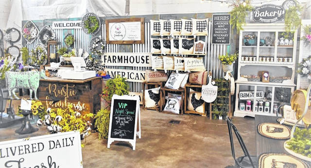 This year's Rustic Farmhouse market will include around 70 vendors ranging in farmhouse decor and repurposed items to homemade bath products and pet supplies.