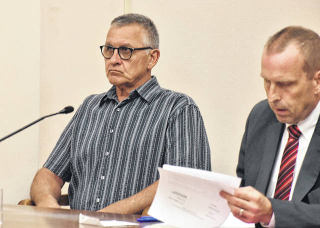 Elida resident Frank Steinke sat stoically in an Allen County courtroom Monday as his attorney, Kenneth Rexford, argued that blood tests taken following a March 11 fatal traffic accident should not be allowed as evidence in Steinke's trial. Nicole Schulte died in the crash that occurred on state Route 501.