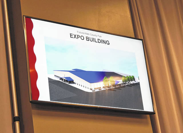 Allen County Fair manager Bob Fricke shared that the fairgrounds will be launching the capital campaign for a new expo building in the fall. They estimate breaking ground in 2022.