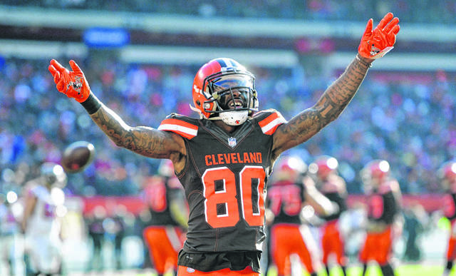 Cleveland Browns wide receiver Jarvis Landry, who had hip surgery in early February, says he expects to return to action sometime in August.