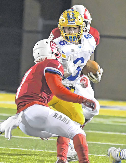 Ethan Wedding will be one of a number of backs that will have the opportunity to show off their running talents for the Roughriders this season.