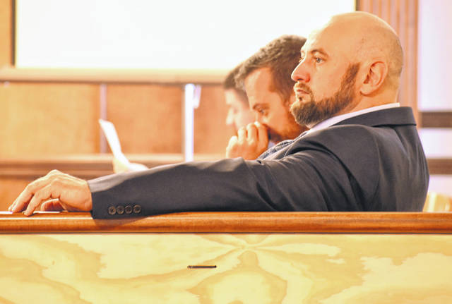 After the lengthly process of selecting jurors, the trial of Scott Seitz, 41, of Lima, started Monday afternoon in the Allen County Courthouse. Seitz is accused of attacking Eric Glover with a baseball bat as Glover made a delivery of methamphetamine.