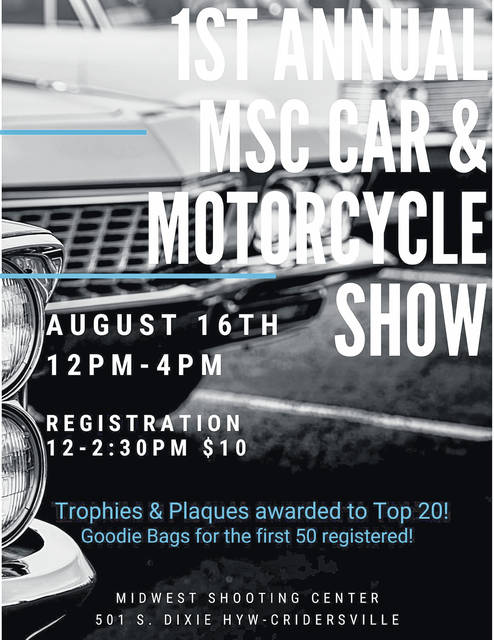 A gun range is hosting a car show this weekend.