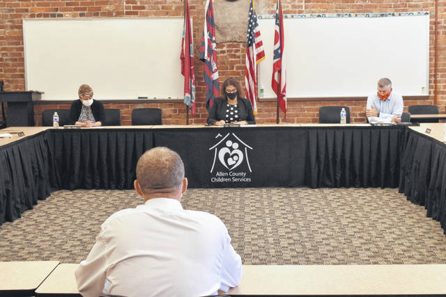 The Allen County Children's Services' board of directors voted unanimously to accept the resignation of two staff members and to terminate the employment of its executive director.