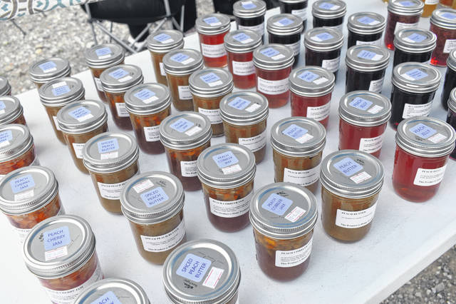 Violet Valley sells several different kinds of homemade jams, jellies, marmalades and butters.