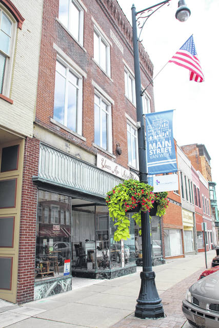 Downtown Van Wert features many older buildings, some of which will be on the walking tour and be part of a renovation project that is kicking off. The Conant Block was built about 1867.