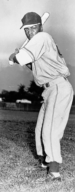 John Henderson was named to Lima Senior's Athletic Hall of Fame posthumously for football, basketball and baseball. This photo accompanied a short item in The Lima News dated Feb. 21, 1956, that announced the 19-year-old three-sport Central High School star had signed a professional baseball contract to play in the Milwaukee Braves' system. He had played locally for several summers prior to that in the City Baseball League.
