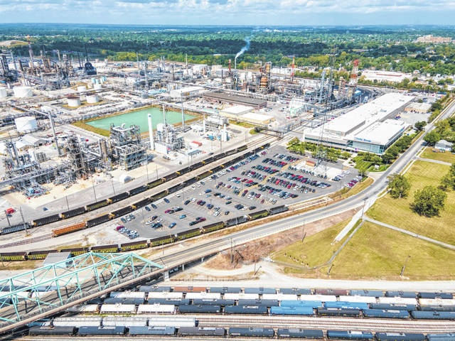 Hurricane Laura hasn't affected the supply or availability of crude oil for Lima's Husky Refinery.