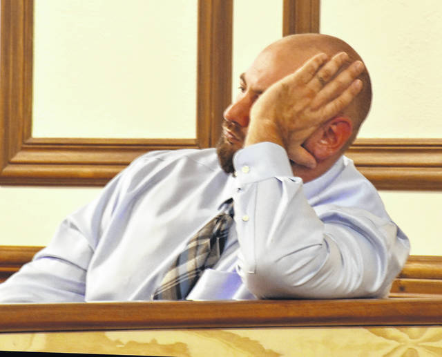 Scott Seitz was taken into custody Wednesday after a jury found him guilty of aggravated assault, a felony of the second degree.
